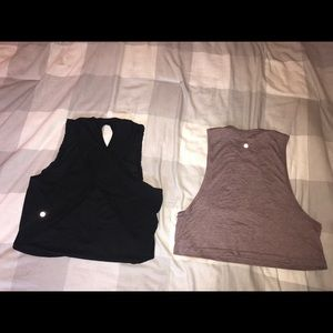 NWOT lululemon crop top bundle